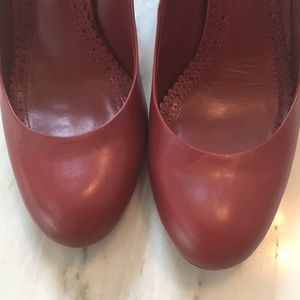 Brooks Brothers Shoes - Brooks Brothers red leather heels